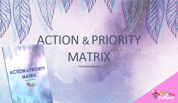 Action & Priority Matrix, Worksheet Exercise